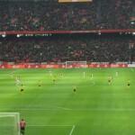 Minder inzet politie tijdens wedstrijden Ajax